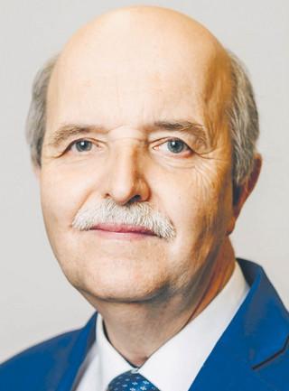 Prof. Andrzej Samborski, rektor Uczelni Państwowej im. Szymona Szymonowica w Zamościu