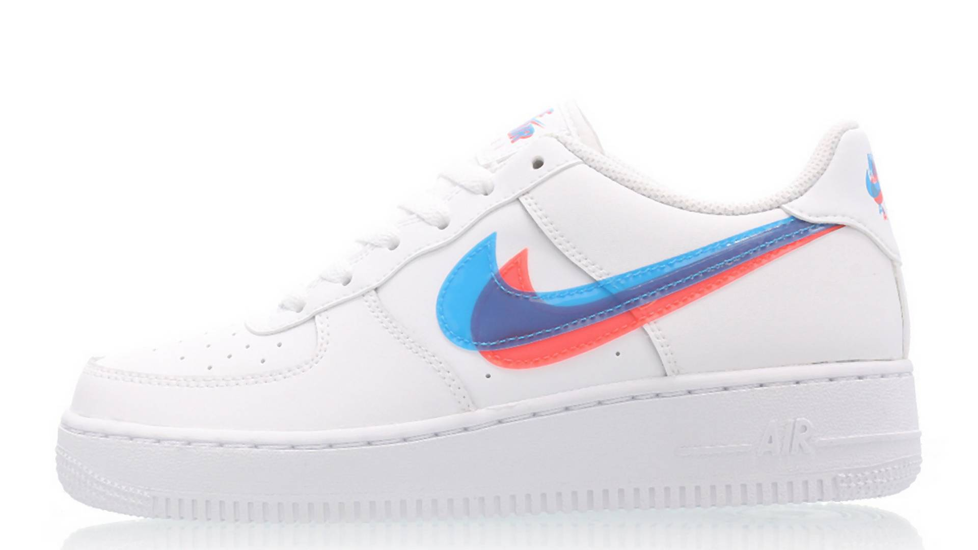 Dieser neue Nike Air Force 1 kommt in 3D-Optik