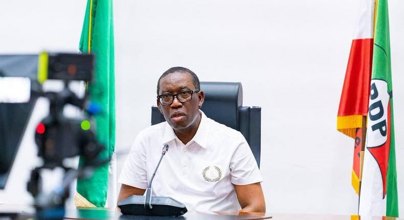 Gov Ifeanyi Okowa of Delta State (Twitter: @IAOkowa)