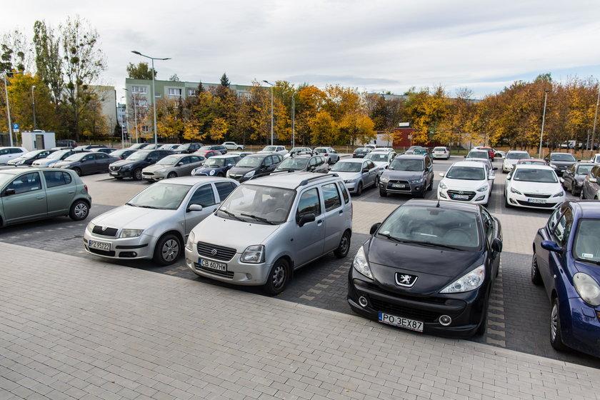 Zbadają napełnienie parkingu Park & Ride Szymanowskiego w Poznaniu