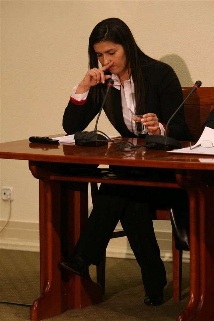magdalena Sobiesiak, komisja, przesłuchanie