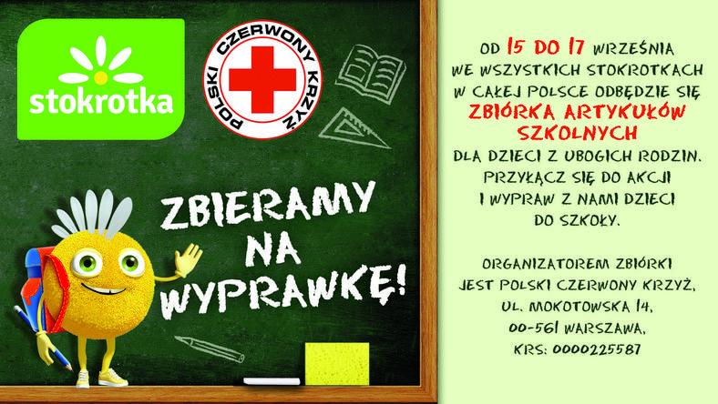 PCK zbiera na wyprawkę dla uczniów z ubogich rodzin