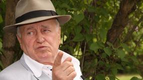 Jan Nowicki nie planuje wakacji - wolny czas spędza w domu na Kujawach