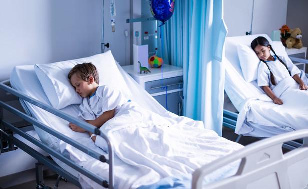 Dzieci w szpitalu