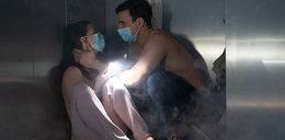 """""""Na dobre i na złe"""". Po wybuchu gazu Blanka i Krzysztof będą uwięzieni w windzie. Wyznają sobie miłość?"""