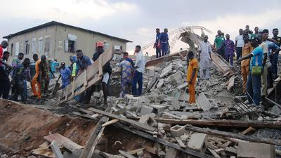 8 injured as another building collapsein Ibadan