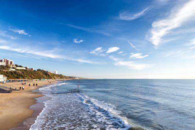 Plaża w Bournemouth