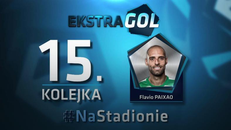 Flavio Paixao autorem EkstraGola 15. kolejki