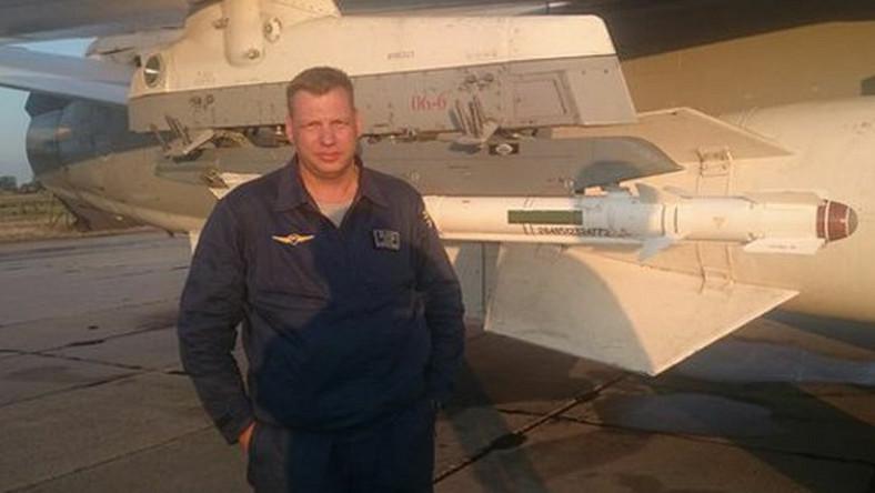 Siergiej Rumiancew, pilot maszyny zestrzelonej na granicy turecko-syryjskiej