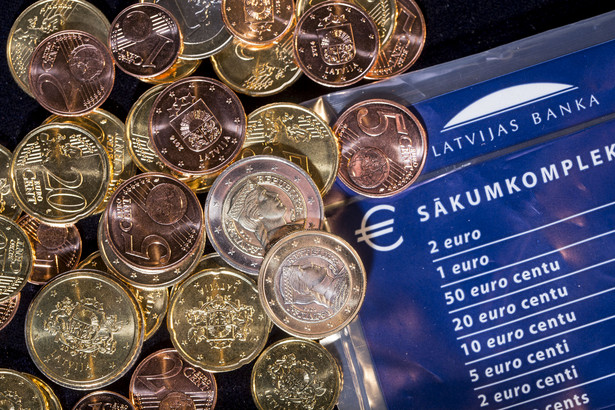 Euro na Łotwie