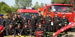 Fundacja Faktu podarowała sprzęt strażacki OSP Kiełkowice