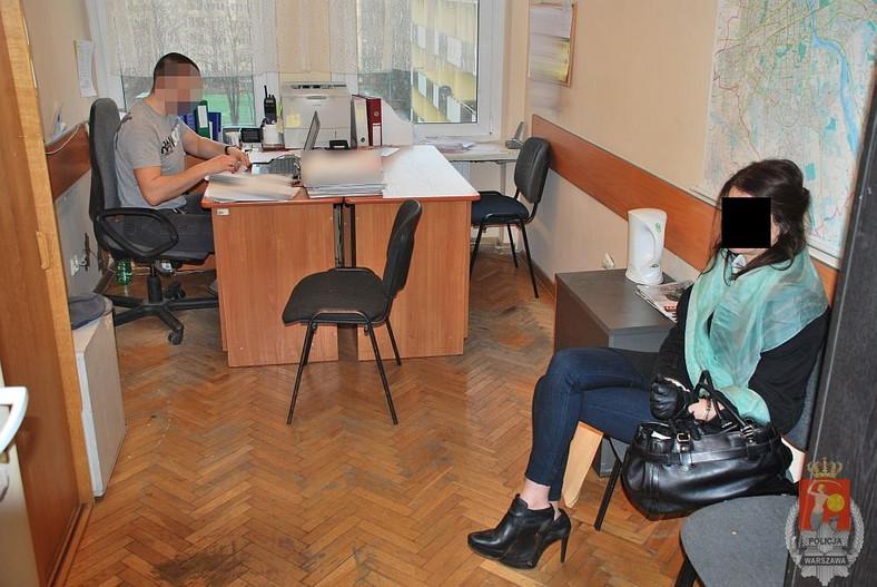 Izabella Ch. na komisariacie