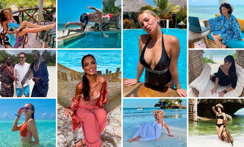 Celebryci na Zanzibarze. Nie boją się koronawirusa?