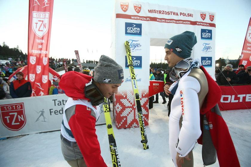 Niedociągnięcia na mistrzostwach Polski w skokach