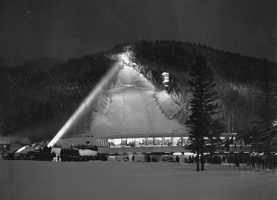 Wielka Krokiew w 1962 roku
