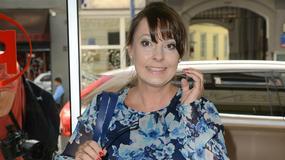 Kolorowa Justyna Sieńczyłło i inne gwiazdy na konferencji prasowej