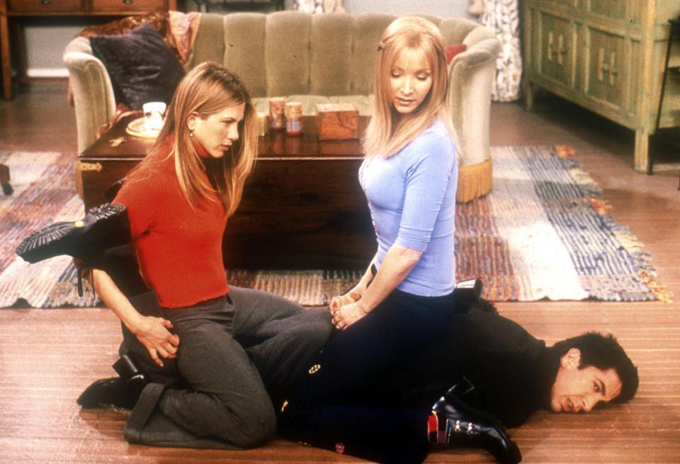 Kiedy Joey i Rachel zaczynają się spotykać