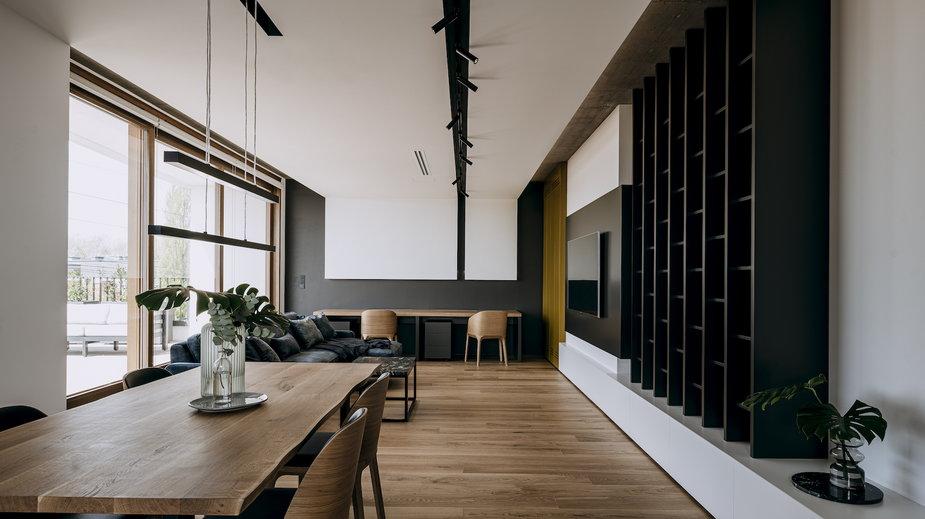 170-metrowy apartament w Warszawie