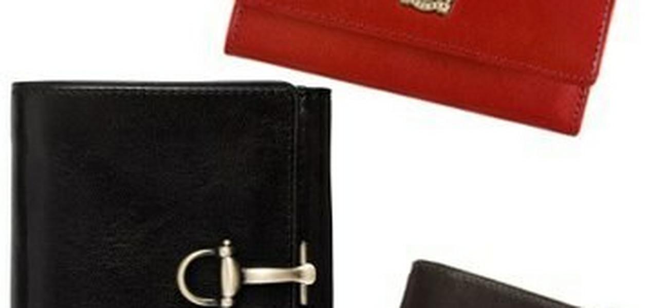 43bca797617e7 Skórzane portfele - modne sakiewki nowoczesnych kobiet
