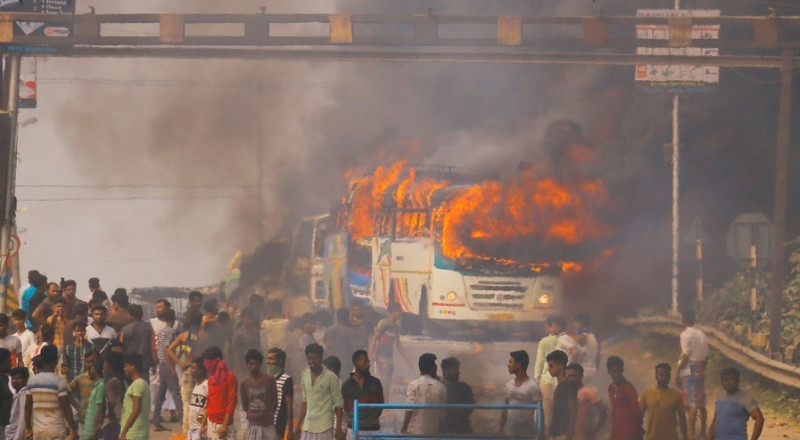 Six dead in protests against Indian citizenship law