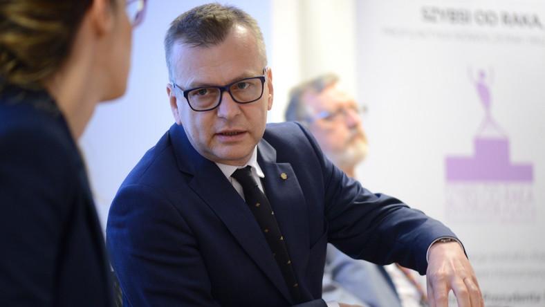 Rektor Warszawskiego Uniwersytetu Medycznego prof. Mirosław Wielgoś
