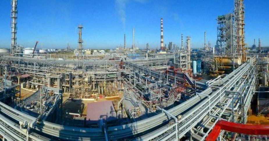 Rafineria Mozyrz. Fot. JSC Mozyr Oil Refinery