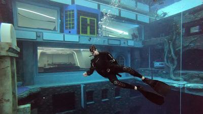 La piscine la plus profonde de la planète est à Dubaï