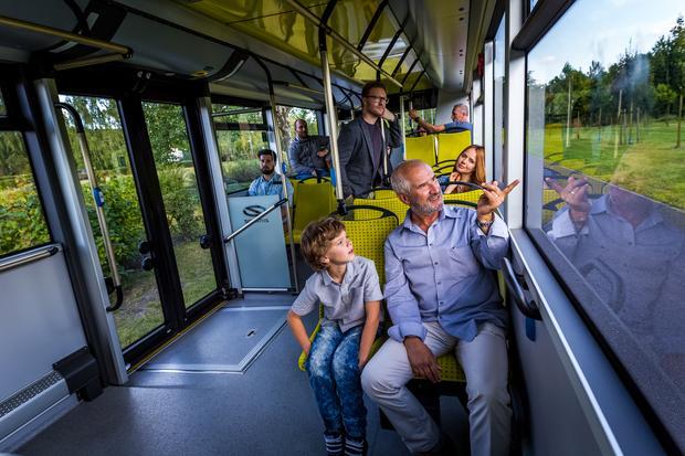 We wnętrzu nowych autobusów Solaris pojawi się system liczenia pasażerów