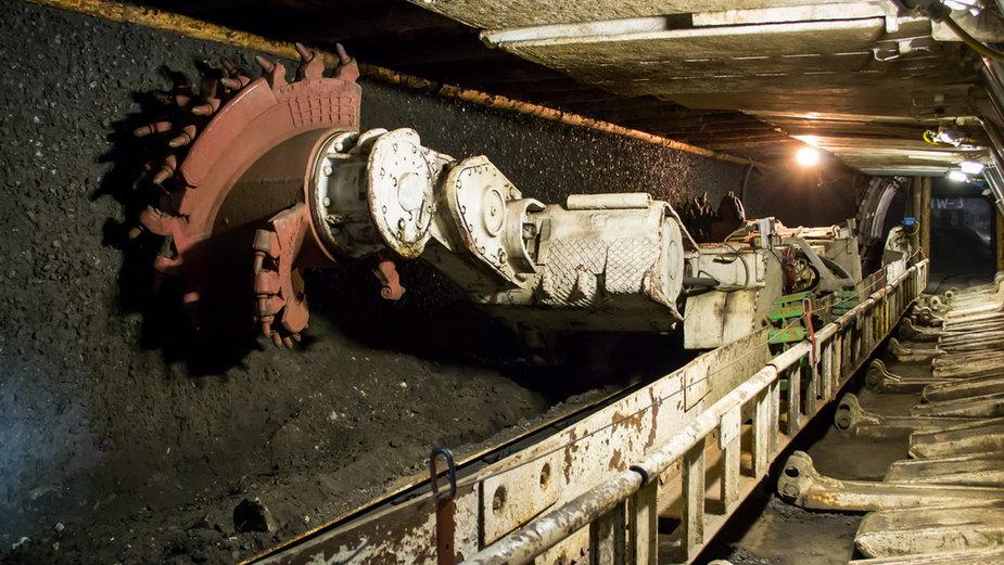 Kopalnia węgla, zdjęcie ilustracyjne