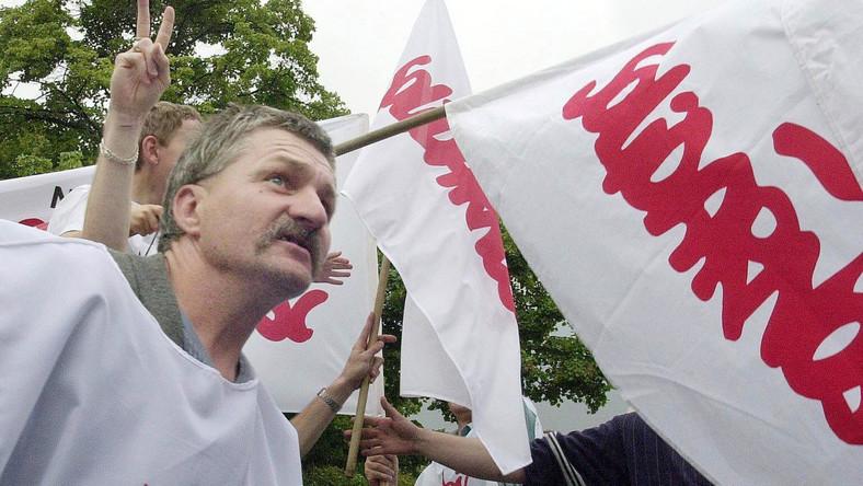 Działacze Solidarności nocowali w poznańskim Urzędzie Wojewódzkim