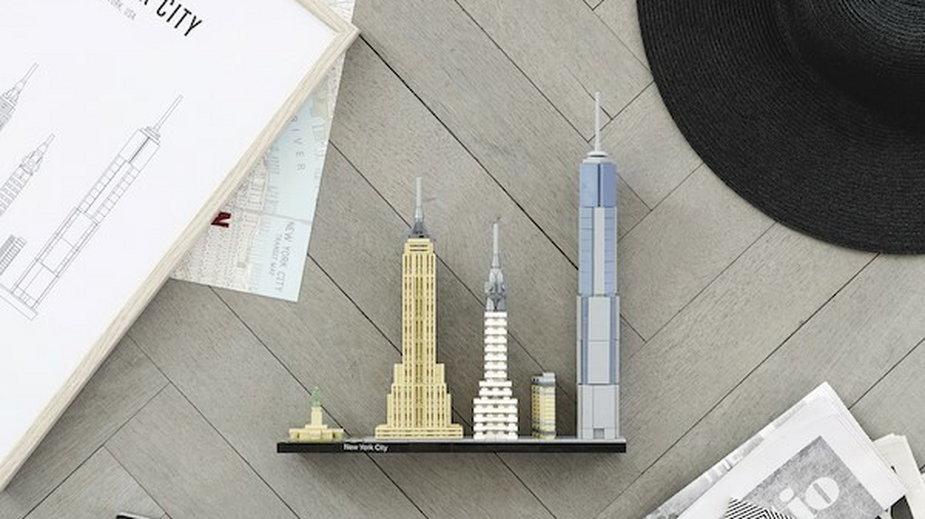 LEGO Architecture Nowy Jork 2