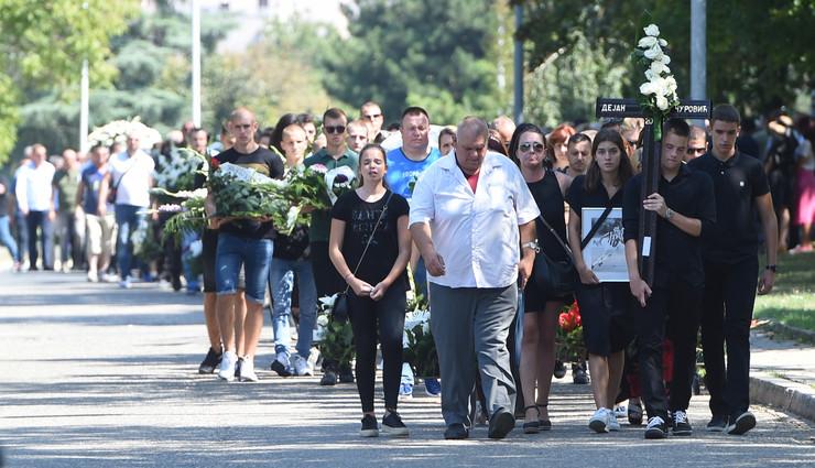 Dejan Čurović - sahrana