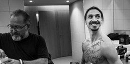 Ibrahimović usuwa tatuaże!