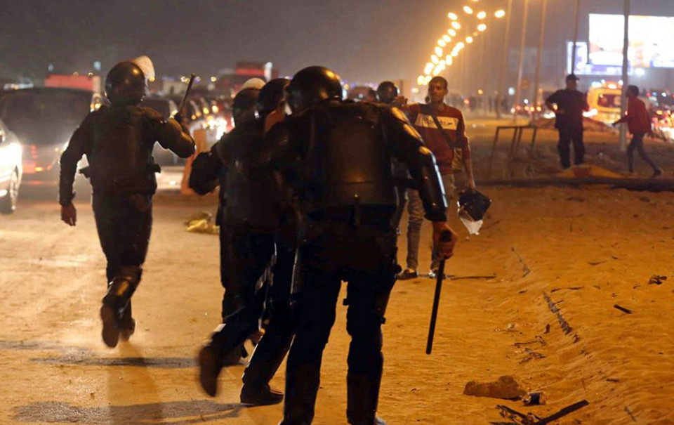 EGYPT - SPORT SOCCER CIVIL UNREST