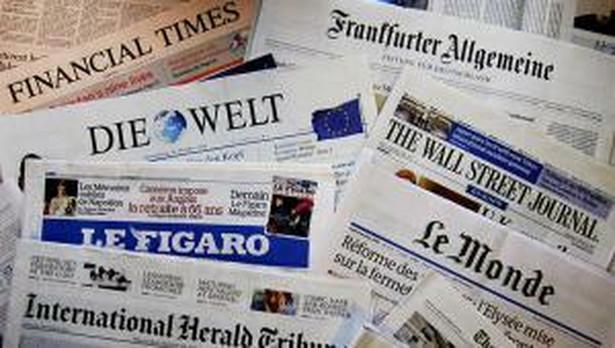 Europejskie gazety