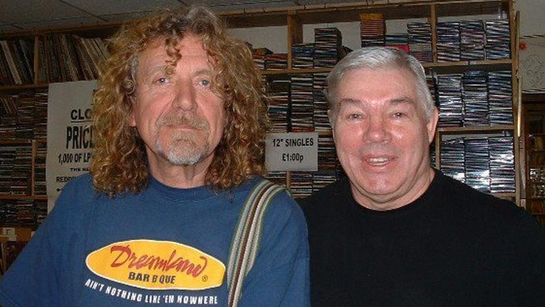 Robert Plant i Dan Reddington