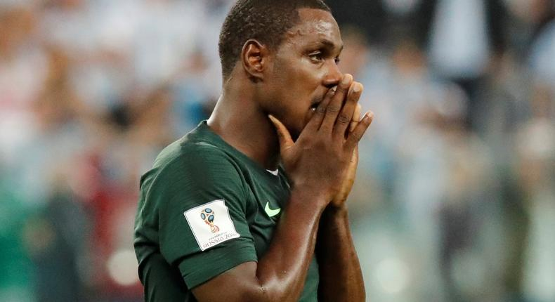 Odion Ighalo is considered a Super Eagles return