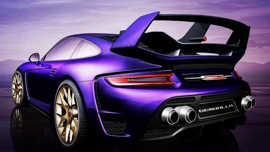 Porsche Gemballa Avalanche o mocy 809 KM