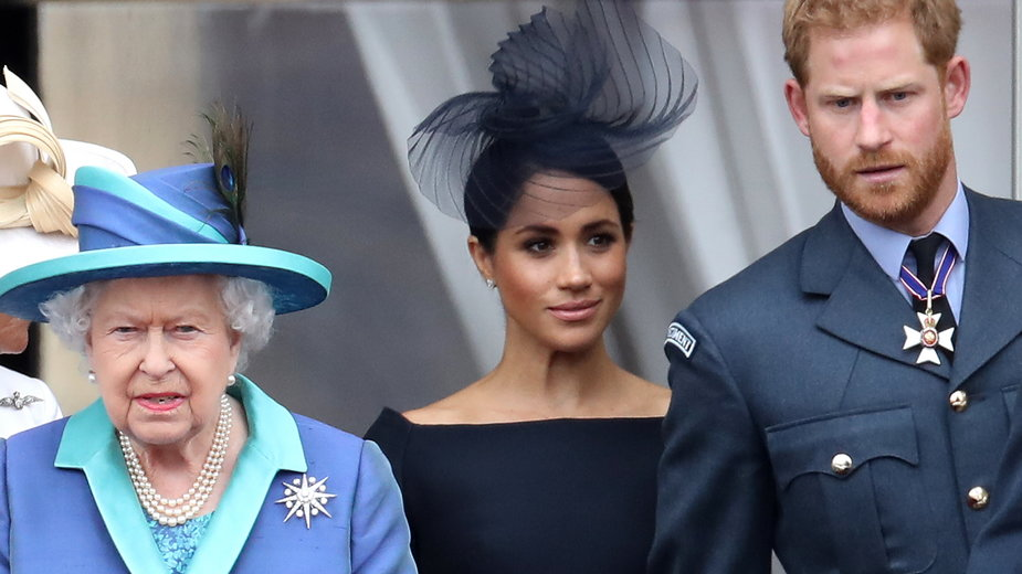 Elżbieta II, Meghan i Harry