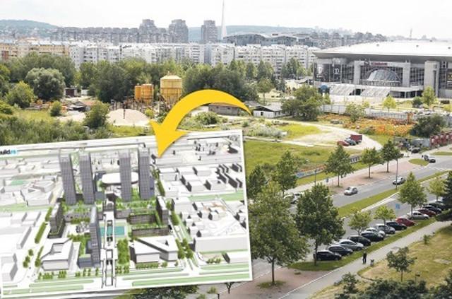 Prema planu detaljne regulacije, 200.000 kvadrata pripada Energoprojektu