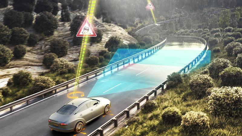 Continental system ostrzegania o zagrożeniach na drodze