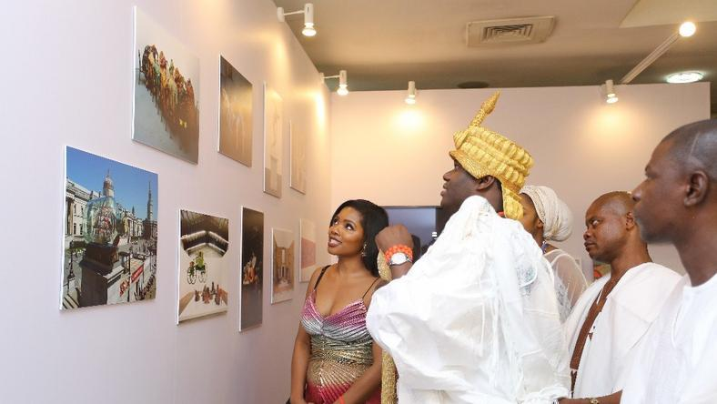 Ooni of Ife and others at ArtxLagos 2018