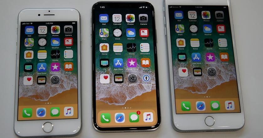 Tegoroczne modele iPhone'ów - 8, 8 Plus oraz X (ten)