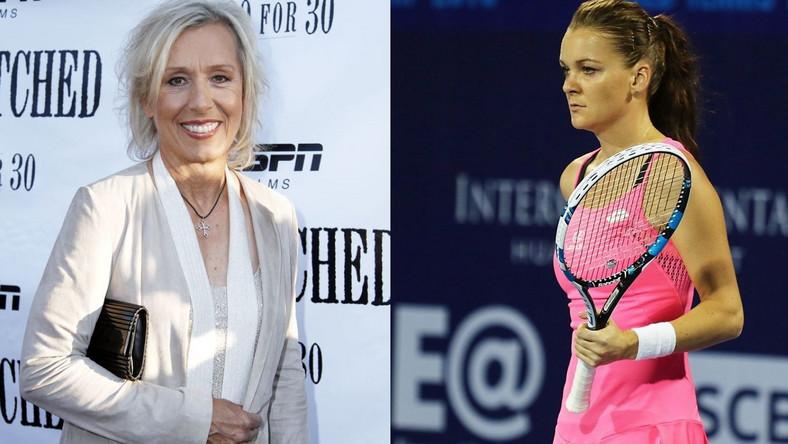 Martina Navratilova ends coaching link-up with Agnieszka