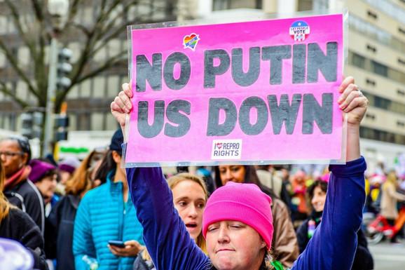 Scena sa prošlogodišnjeg protesta u Vašingtonu