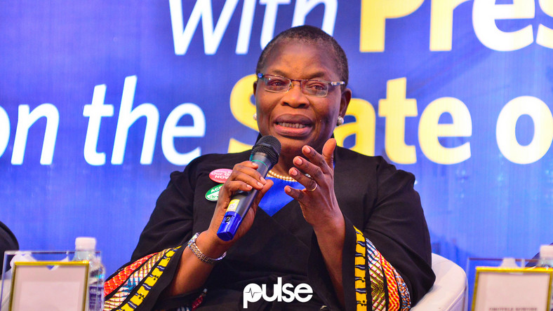 Image result for You're ruling a divided nation, Oby Ezekwesili tells Buhari