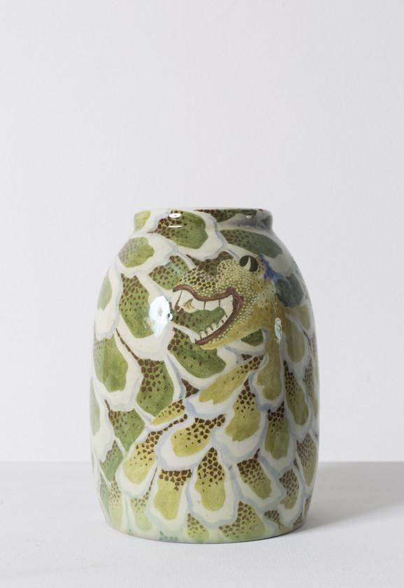 Kris Lanoj (Chris Lanooy), Vaza od keramike, početak 20. veka, Holandija