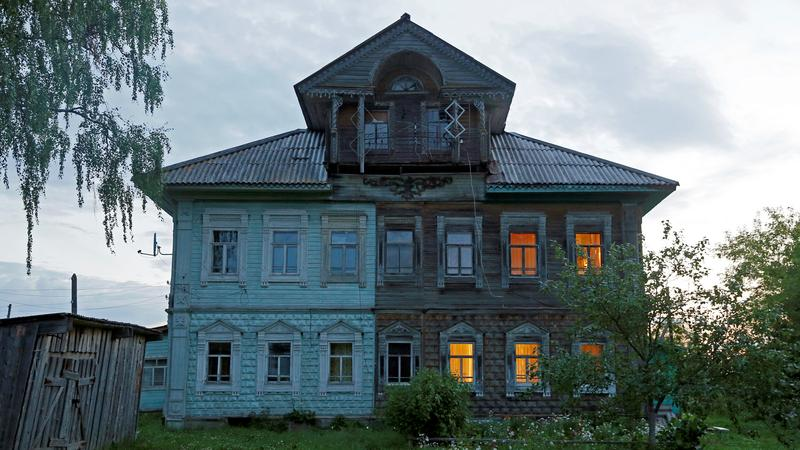 The Wider Image: Russia's ancestral architecture