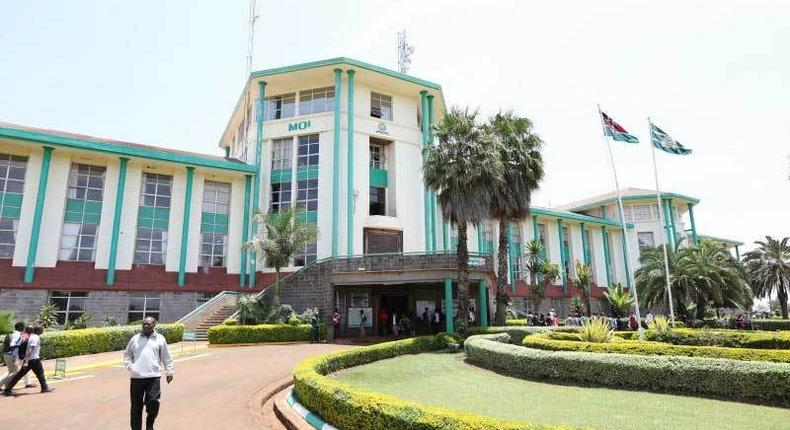 A section of Moi University