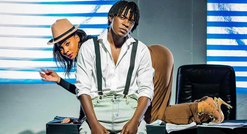 Photo of Willy Paul with a video vixen